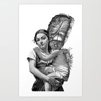 evolution Art Prints featuring Evolution by DIVIDUS