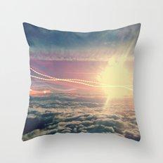 Be Light Throw Pillow