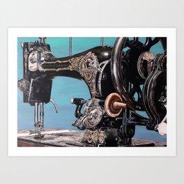 The machine VII Art Print
