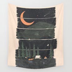 Wish I Was Camping... Wall Tapestry