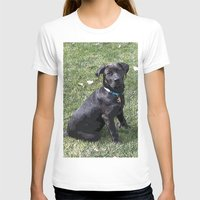 lab T-shirts featuring Black Lab by Sierra LaFrance