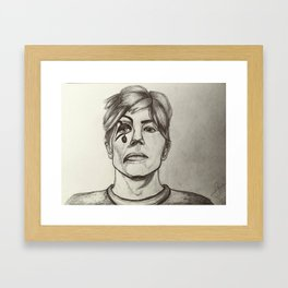 Mime Bowie Framed Art Print