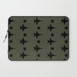 F-18 Hornet Fighter Jet Pattern Laptop Sleeve