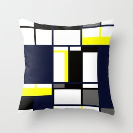 Strict geometry. Throw Pillow