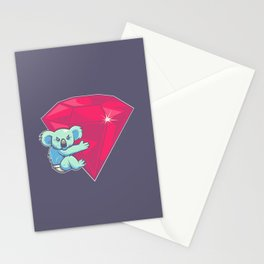 Koala Bear Underwear Stationery Cards