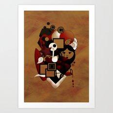 Goloseando Art Print