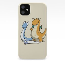 Pokémon - Number 147, 148 and 149 iPhone Case