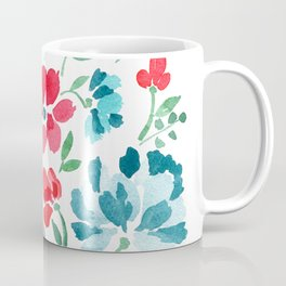 Red White and Bloom Coffee Mug