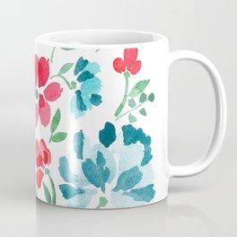Red White and Bloom Coffee Mug