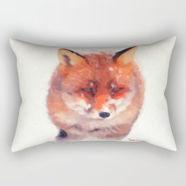 The Fox Rectangular Pillow