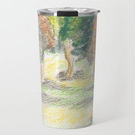 Squiggly Trees Travel Mug
