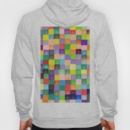 Pixelated Patchwork Hoody