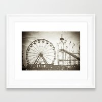 carnival Framed Art Prints featuring Carnival by Olivia Joy StClaire