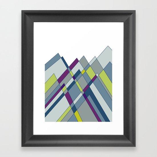 GeoMount Framed Art Print