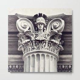 """PILLARS OF STRENGTH"" Metal Print"