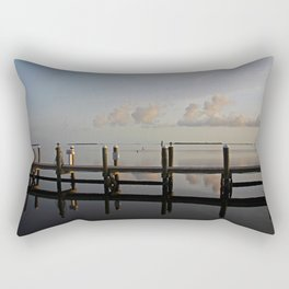 Glimmers Like Glass Rectangular Pillow