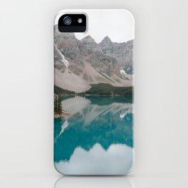 Moraine Lake, Banff National Park iPhone Case