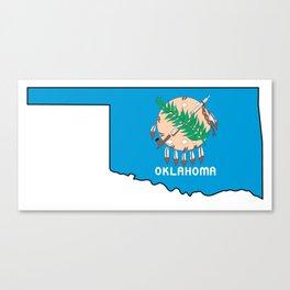Oklahoma Love Canvas Print