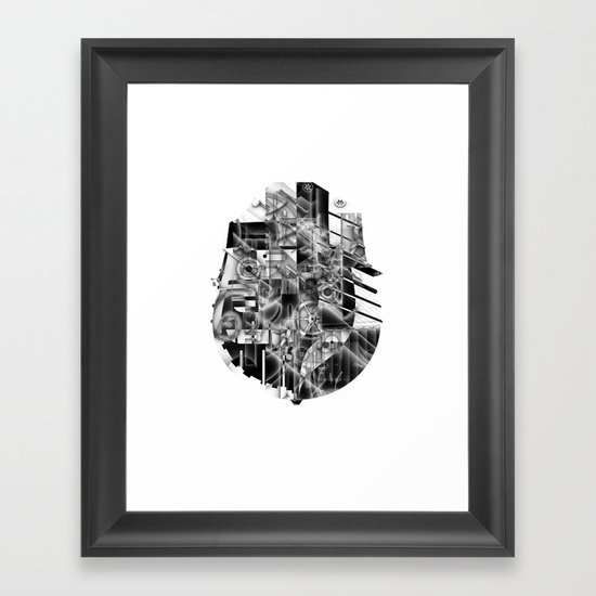 Ship Parts Framed Art Print
