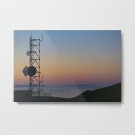 Towers in the Sky Metal Print