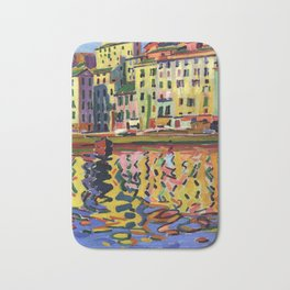 Auguste Herbin - The Quays of the Port of Bastia Bath Mat