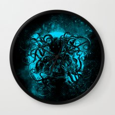 terror from the deep space Wall Clock