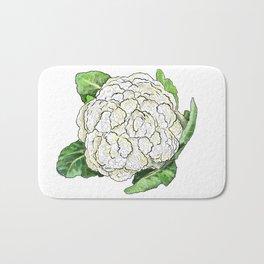 Cauliflower from the Eat Your Veggies Series Bath Mat