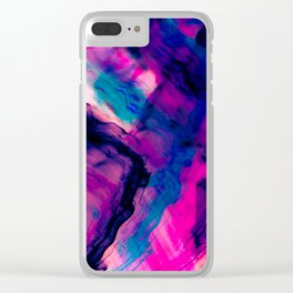 Reflection Abstract Digital Painting Clear iPhone Case