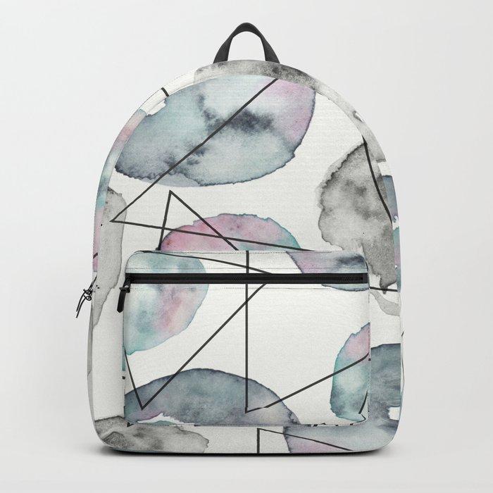 Orbiting Asteroid Pattern Backpack