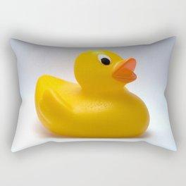 Little yellow duck Rectangular Pillow