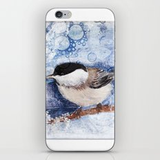 A winter's day iPhone & iPod Skin