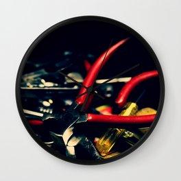 Steel Wall Clock