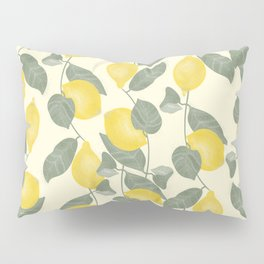 Citrus Pattern Pillow Sham