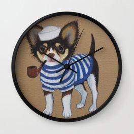 Chihuahua - Sailor Chihuahua Wall Clock