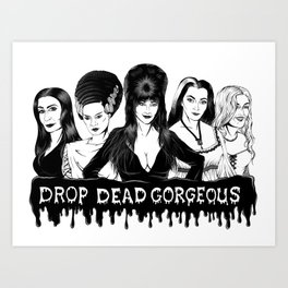 Ladies of Fright Art Print
