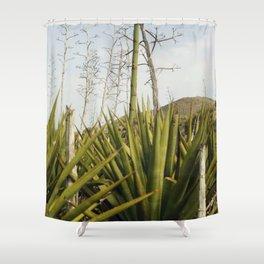 Mi tierra Shower Curtain