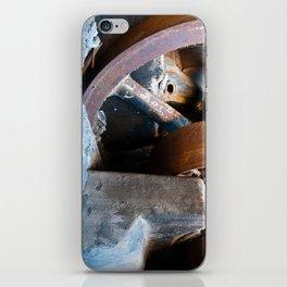 Old Rusty Salt Machine iPhone Skin