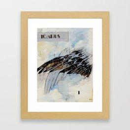 I is for Icarus Framed Art Print