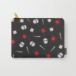 Friday the 13th pattern Carry-All Pouch