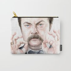 Swanson Mustache Carry-All Pouch