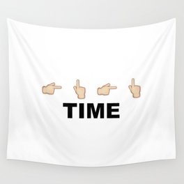 Limiter Time Wall Tapestry