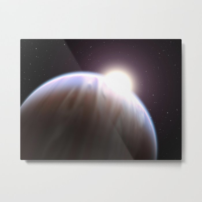 Astronomers Detect First Organic Molecule on an Exoplanet Metal Print