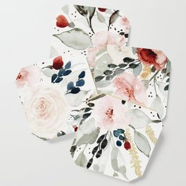 Loose Watercolor Bouquet Coaster