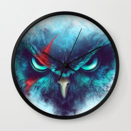 The Fearsome Owl Wall Clock
