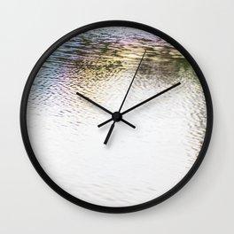 Rainbow H20 Wall Clock
