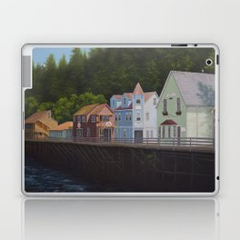 Ketchikan's Creek Street Laptop & iPad Skin