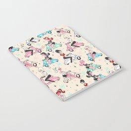 Scooter Girls Pattern Notebook