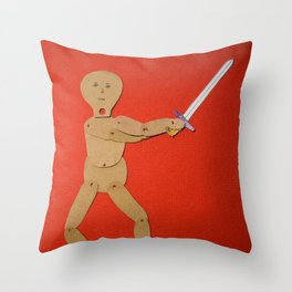 Sword! Throw Pillow