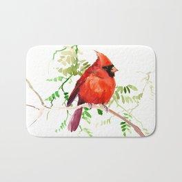 Cardinal Bird Bath Mat