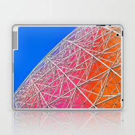 Rainbow Biosphere Mesh Laptop & iPad Skin